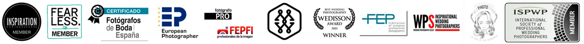 Logotipos de los directorios de boda de España y del mundo