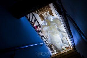 Boda en candelario, Patricia y Alfredo, El vestido de Patricia