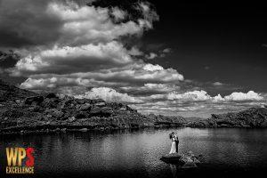 Fotografia premiada en la Wedding Photography Select del Reino Unido con el primer premio, realizada en las Laguna del Trampal, Salamanca