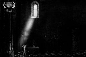 Fotografía premiada en el directorio Wedisson de Rusia, realizada por Johnny Garcia en la iglesia de Villatoro