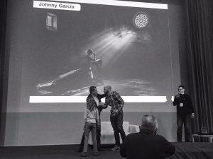 Johnny Garcia recoge el premio en Sevilla fotógrafo de bodas