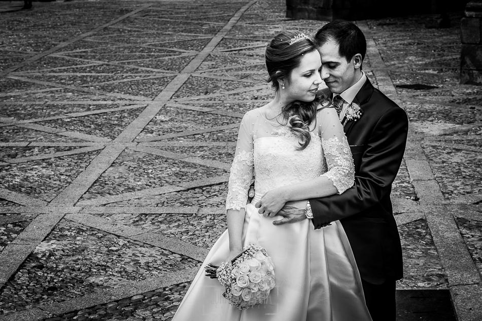 Boda en Plasencia, Isabel + Rubén, un retrato de la pareja después de la boda