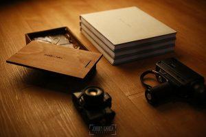 Ejemplo de libro de boda realizado por Johnny García. Lino artslibri.