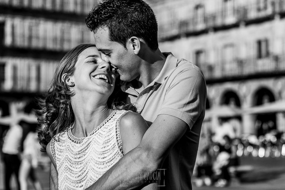 Pre boda en Salamanca, un retrato de Cristina y Santiago