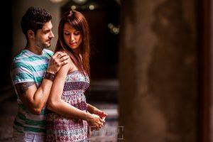 Pre boda en Valladolid, Alexandra + David, Alexandra y David