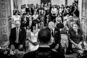 Boda en Caceres, Maria e Isidro, realizada por el fotografo de bodas en Caceres Johnny Garcia, Extremadura, una fotografía general del lugar de la ceremonia