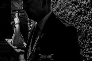 Boda en Caceres, Maria e Isidro, realizada por el fotografo de bodas en Caceres Johnny Garcia, Extremadura, un retrato de María, Isidro en primer plano
