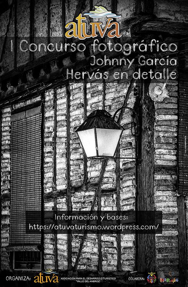 Cartel I Concurso Fotografia Johnny García Hervás en Detalle, en Extremadura, Fotógrafo de bodas en España