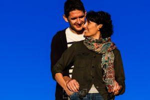 Fotografía de la pre boda en Tornavacas de Mercedes y Fran, realizada por Johnny García, fotógrafo de bodas en Extremadura, un retrato de ellos
