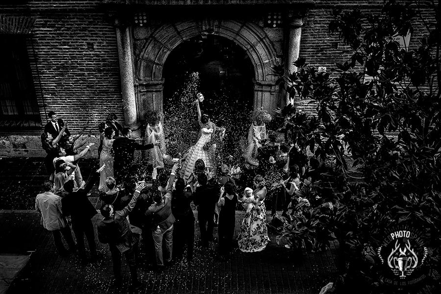 Fotografia premiada en wed photo spain de españa, realizada por el fotografo de bodas extremeño johnny garcia en Medina del Campo, Valladolid