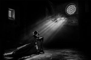 Fotografía premiada en el directorio de fotógrafos de boda MyWed, en la categoría Magic Light, realizada por el fotógrafo de bodas en España Johnny Garcia