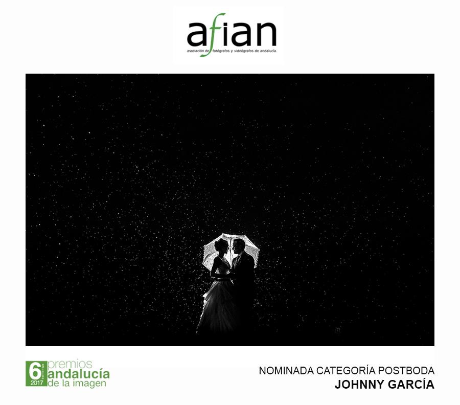 Fotografia de boda nominada a los premios andalucía de la imagen en la categoría de postboda realizada por Johnny Garcia en Salamanca