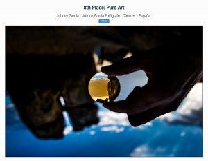 Fotografia premiada en los premios primavera 2017 en la ISPWP realizada por Johnny Garcia en los Barruecos