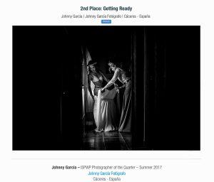 Fotografia ganadora en la categoría getting ready en el directorio ISPWP realizada por el Fotógrafo de bodas en Extremadura Johnny Garcia, y por la que ha obtenido el primer premio en la ISPWP en su concurso de verano.