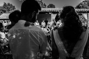 Boda en Hervás y postboda en Trevejo de Sofía y Charly realizada por Johnny García, fotógrafo de bodas en Extremadura, los novios dedican unas palabras a los invitados