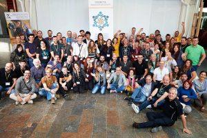 Fotografía de grupo del encuentro Conecta 2017, organizado por Fotografo de Boda en España
