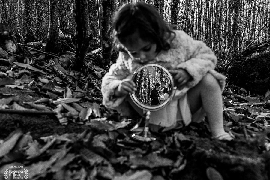 Fotografía premiada en Fotógrafo de Boda en España, categoría luz, realizada por Johnny García