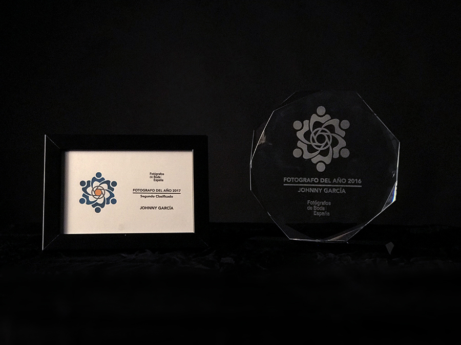 Premios de Fotógrafo de Boda en España de Johnny García, foto destacada