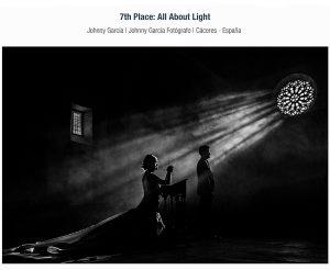 Fotografia premiada en ISPWP en su colección de otoño realizada en candelario por Johnny Garcia fotografo de bodas en Salamanca