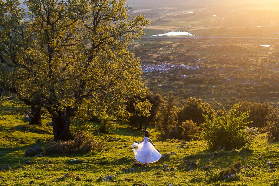 Fotos de comunión, comuniones Johnny García, fotógrafo en Extremadura, vista desde lo alto