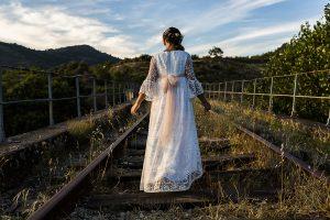 Fotos de comunión, comuniones Johnny García, fotógrafo en Extremadura, desde atrás
