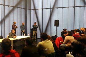 fotografía del debate final en el I Fotoencuentros de Almendralejo