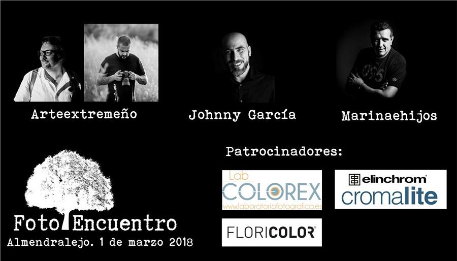 Cartel del I Fotoencuentros en Almendralejo