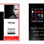 Carteles de próximas paradas, Meeting Flecha y Photo Forum 2018