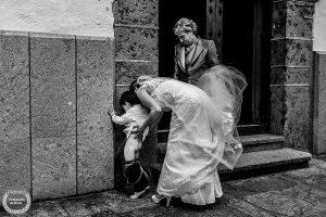 Fotografía premiada en Fotógrafos de Boda en España realizada por el fotógrafo de bodas en Extremadura Johnny García, foto realizada en el Castañar de Béjar