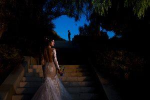 Fotografía realizada por Johnny García en el workshop de Alicante, detalle del vestido de novia