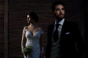 Fotografía realizada por Johnny García en el workshop de Alicante, retratos de la pareja