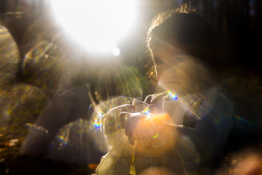 Boda en el Torreón de Veredillas de María e Iván, fotos de boda realizadas por el fotógrafo de bodas en Cáceres Johnny García, un retrato de Emma