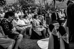 Bodas en Hervás, la boda de Laura y Carlos realizada por Johnny Garcia, fotógrafo de bodas en Extremadura, imagen de alguno de los invitados-