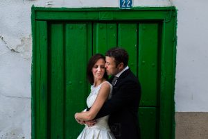 Bodas en Hervás, la boda de Laura y Carlos realizada por Johnny Garcia, fotógrafo de bodas en Extremadura, LAura y Carlos en su postboda