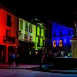50 Aniversario de la Declaración Conjunto Histórico-Artístico de Hervás, Fotos realizadas pro el fotógrafo hervasense Johnny García, Plaza de la Corredera, destacada