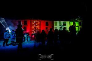 50 Aniversario de la Declaración Conjunto Histórico-Artístico de Hervás, Fotos realizadas pro el fotógrafo hervasense Johnny García, edificios de la plaza de la Corredera