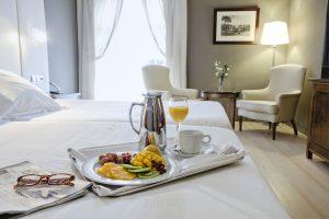 © Johnny Garcia   Fotografia Hotel Barceló Extremadura, detalle de habitación.