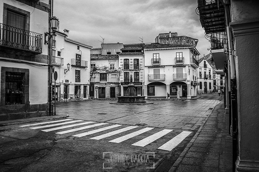 Primera vez que la Plaza de La Corredera se quedó libre de coches, noviembre de 2005, fotografía realizada por Johnny García.
