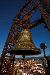 Vistas de Hervás desde el campanario del El Convento, octubre de 2011, fotografía realizada por Johnny García.
