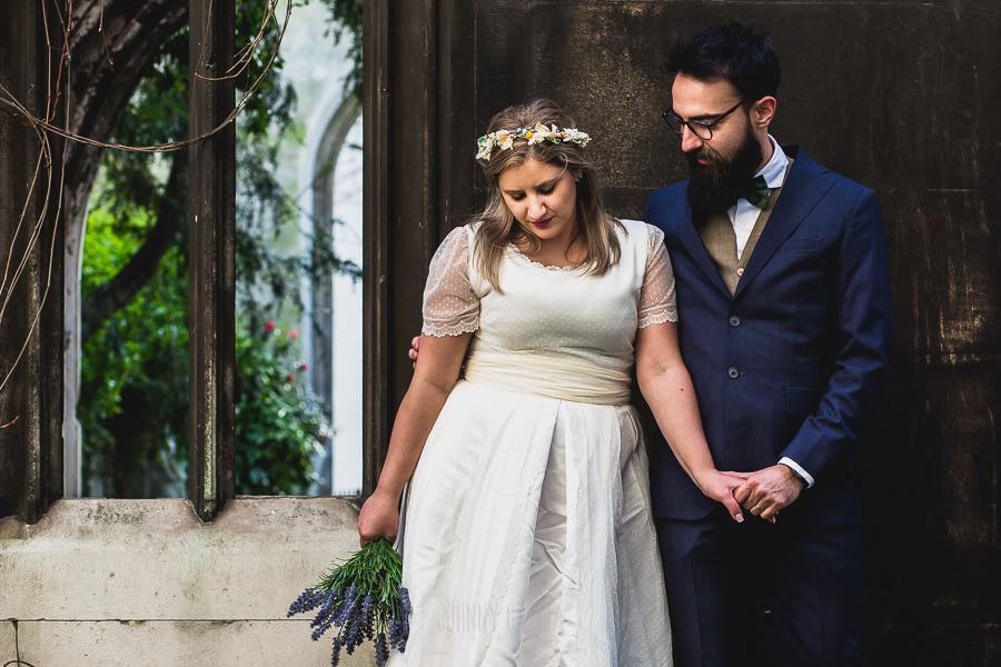 Post boda en Londres de Ani y Hécter realizadas por Johnny García, fotógrafo de bodas en Londres; retrato de los novios.