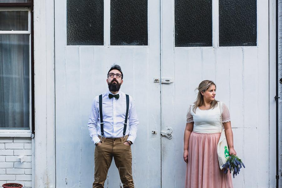 Post boda en Londres de Ani y Hécter realizadas por Johnny García, fotógrafo de bodas en Londres; retrato.