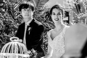 Boda en el Castillo de las Seguras de Cáceres de Marta y Charley realizada por Johnny García, fotógrafo de bodas en Cáceres. Momento de la boda