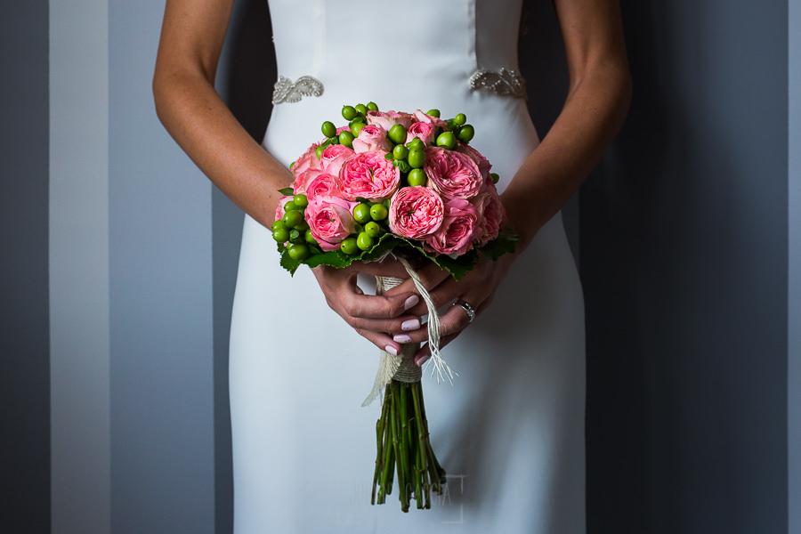 Los mejores ramos de novia, ideas para tu ramo de novia, Johnny Garcia fotógrafos, ramo de novia en tonos rosa y verde.