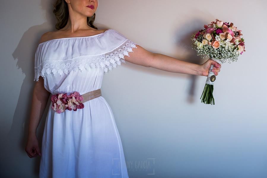 Los mejores ramos de novia, ideas para tu ramo de novia, Johnny Garcia fotógrafos, ramo de novia romántico.
