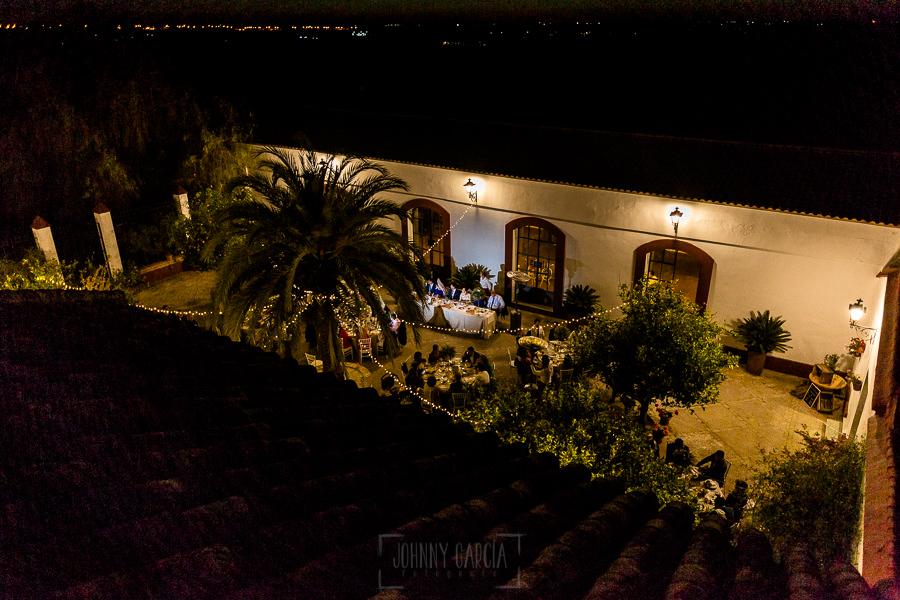 Vista de la Hacienda de Regla por la noche.