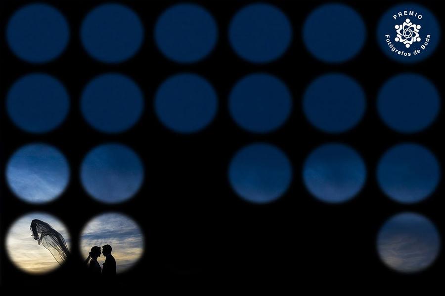 Fotografía de boda premiada en Fotógrafos de Boda en España en su Round 15 realizada por Johnny García