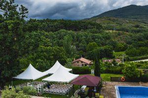 Boda hotel Ruta Imperial de Sandra y David realizada por el fotógrafo de bodas en Jarandilla de la Vera Johnny García, Vista del Hotel