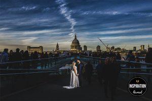 Fotografía de boda premiada en Inspiration Photographer en su collection 26 realizada por Johnny García en una boda en Londres