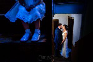 Boda en La Alberca de Sonia y Juanjo realizada por el fotógrafo de bodas en Salamanca Johnny García. Foto de la sesión de postboda.