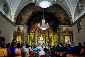 Boda en Béjar de Vanessa y Jorge realizada por Johnny García, fotógrafo de bodas en Béjar. Vista del Santuario desde atras.